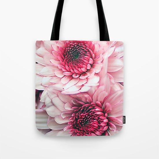 Pink asters. Tote Bag