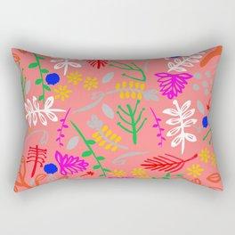 Folky garden Rectangular Pillow