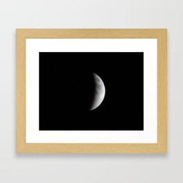 Supermoon Eclipse 1 Framed Art Print