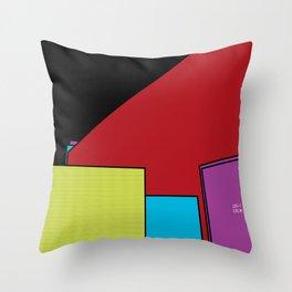 Fifth Floor Hangout Throw Pillow