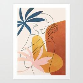 Minimal Movement I Art Print