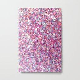 Twinkle Pink Metal Print