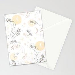 Forever together - Matisse inspired pattern Stationery Cards