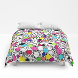 Circles and Other Shapes and colors Comforters