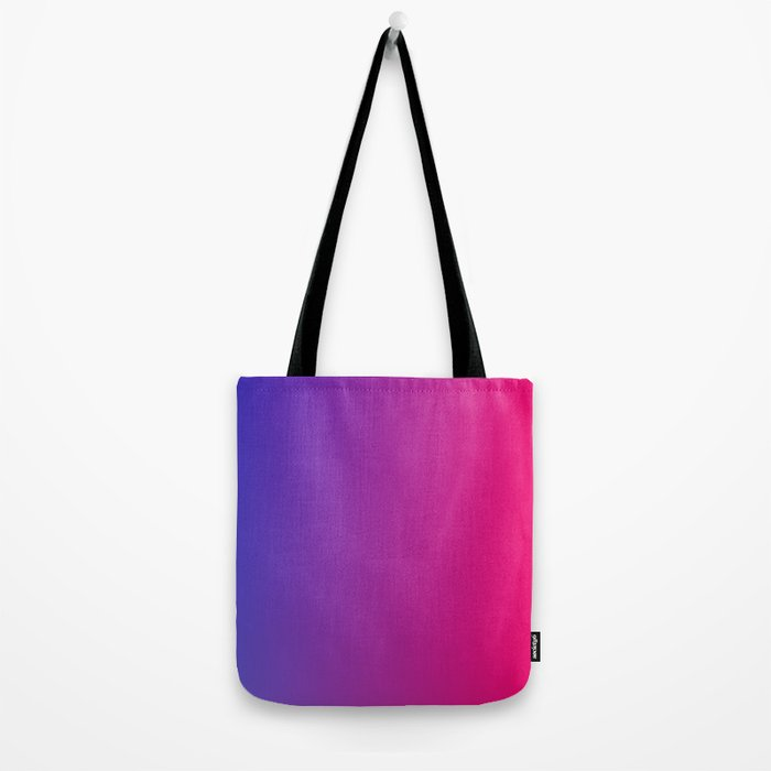 blue pink fade Tote Bag