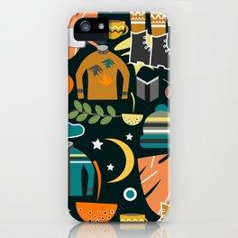 Autumn clothing iPhone Case