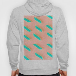 Neon Abstract Pasta Noodles Pattern (Color) Hoody