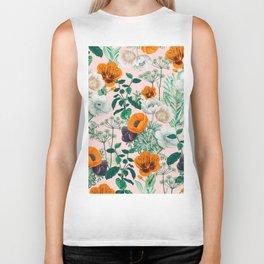 Wildflowers #pattern #illustration Biker Tank