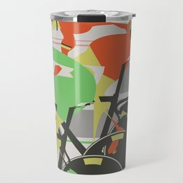 Velodrome Bike Race Travel Mug