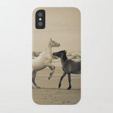 Wild Horses 2 iPhone X Slim Case