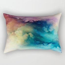 Rainbow Dreams Rectangular Pillow