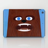 chewbacca iPad Cases featuring Chewbacca by Jack Teagle