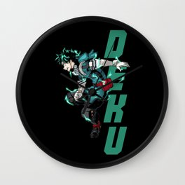 Deku! Wall Clock