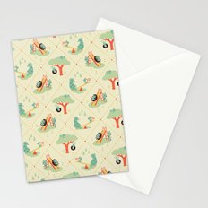 Playground Critters Stationery Cards