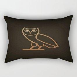 DRAKE Owl logo Rectangular Pillow