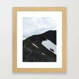 Black Mountain Framed Art Print