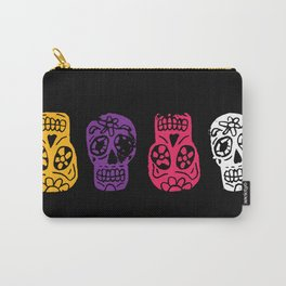 Inked Sugar Skulls Carry-All Pouch