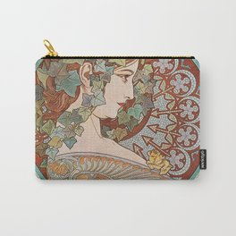 Alphonse Mucha - Ivy Carry-All Pouch