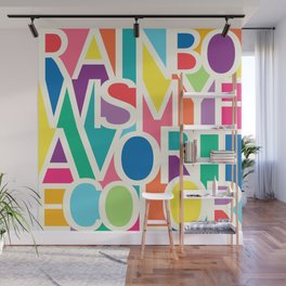 My Favorite Color Wall Mural