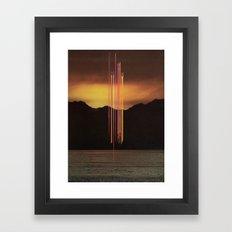 True Division Framed Art Print