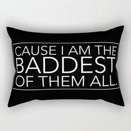 BADDEST Rectangular Pillow