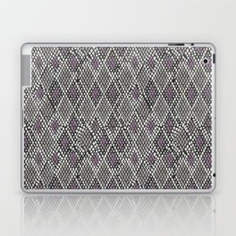 Grey and Purple Python Laptop & iPad Skin