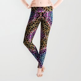Floral Wrought Iron G80 Leggings
