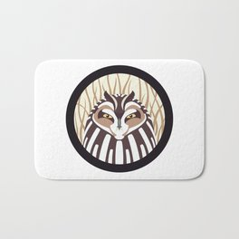 Short-eared Owl Bath Mat