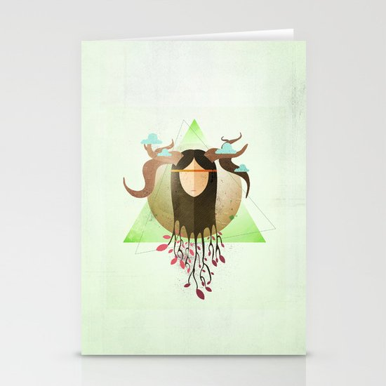 Fortress of Nature Stationery Cards