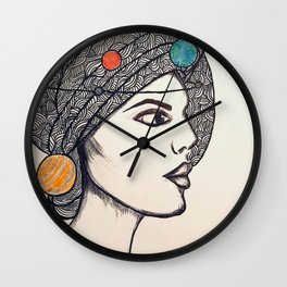 Miss Universe Wall Clock