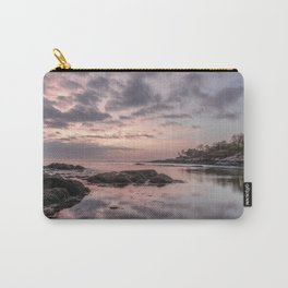 Pastel Plum cove Sunset 5-10-19 Carry-All Pouch