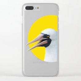 Hi! Nazca booby Clear iPhone Case