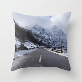 Serra da Estrela Throw Pillow