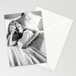 Marylin Monroe Pastel color Print Stationery Cards