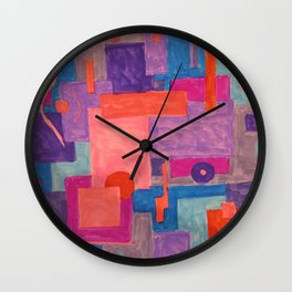 Sunday Doodles_1 Wall Clock