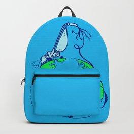 Help (blue) Backpack