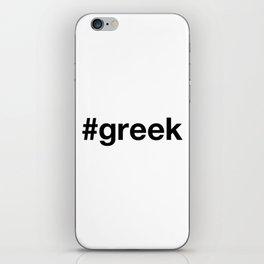 GREEK iPhone Skin