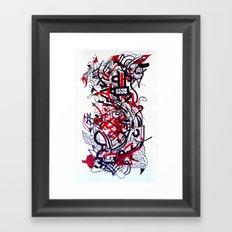 Love City Framed Art Print