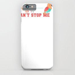 I Can't Stop Me Twice iPhone Case
