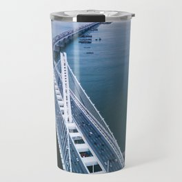 Oakland - San Francisco Bay Bridge Travel Mug