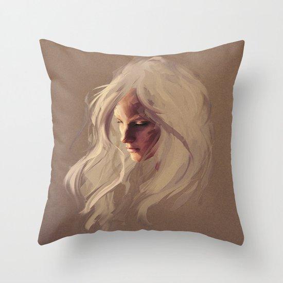 PLATINUM Throw Pillow