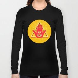 Hand and eye Long Sleeve T-shirt