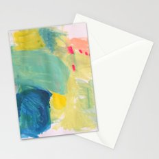Life in Aqua Stationery Cards