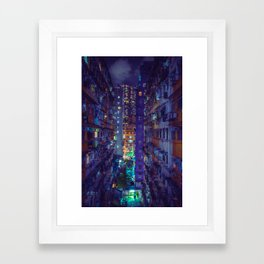 Hong Kong Replicant Framed Art Print