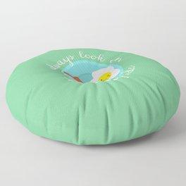 always look on the sunny side Floor Pillow