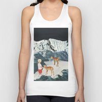 starry night Tank Tops featuring Starry Night by Sarah Eisenlohr