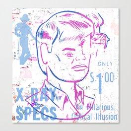 X-Ray Specs Canvas Print