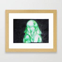 Baby elephant III Framed Art Print