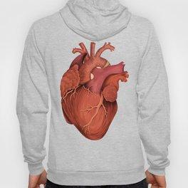 Anatomical Human Heart - Peach/Pink Version Hoody
