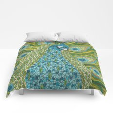 The Peacock Comforters